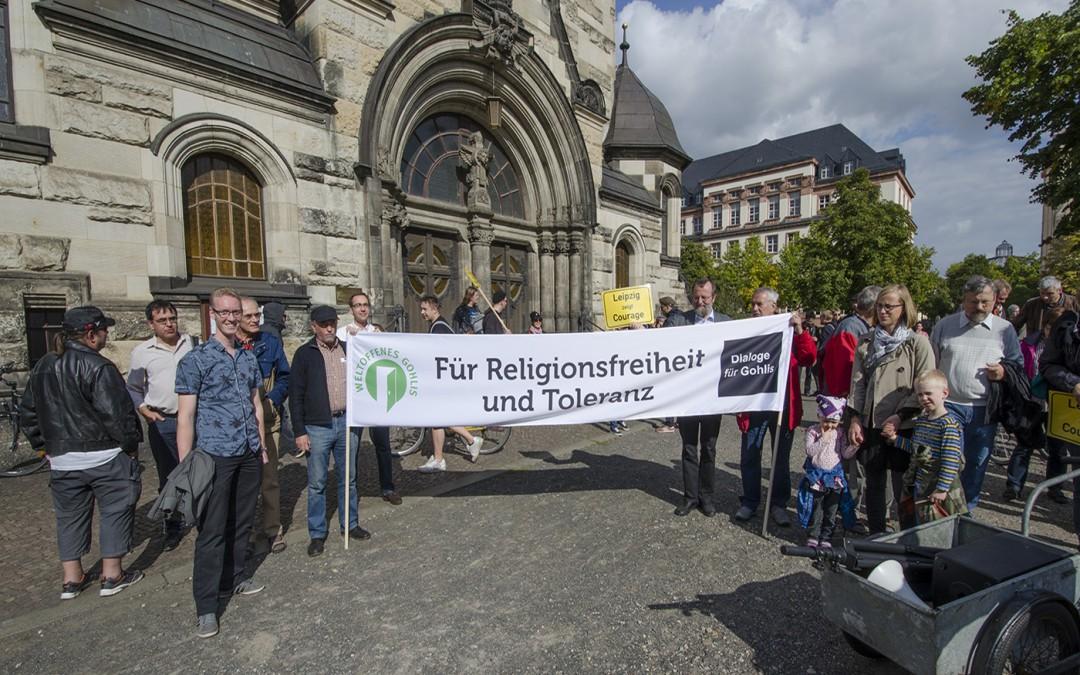Samstag, den 26.09.2015: Demonstration – Für Religionsfreiheit und Toleranz