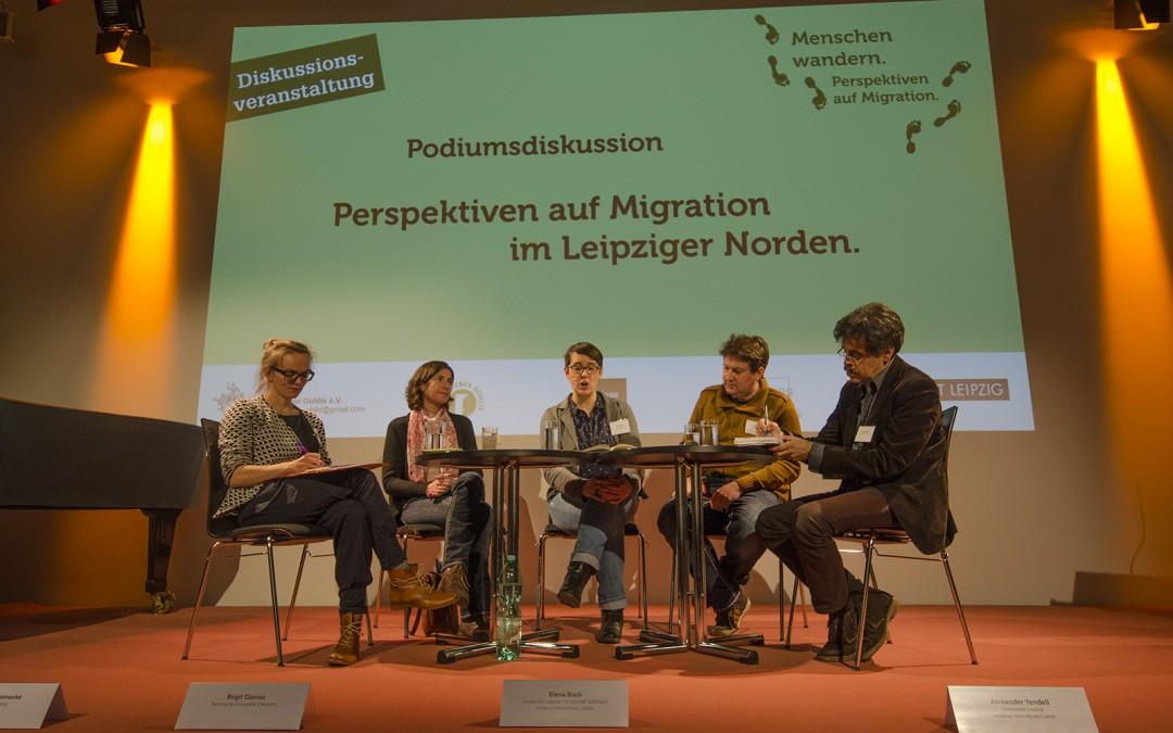 Diskussionsveranstaltung: Menschen wandern. Perspektiven auf Migration.